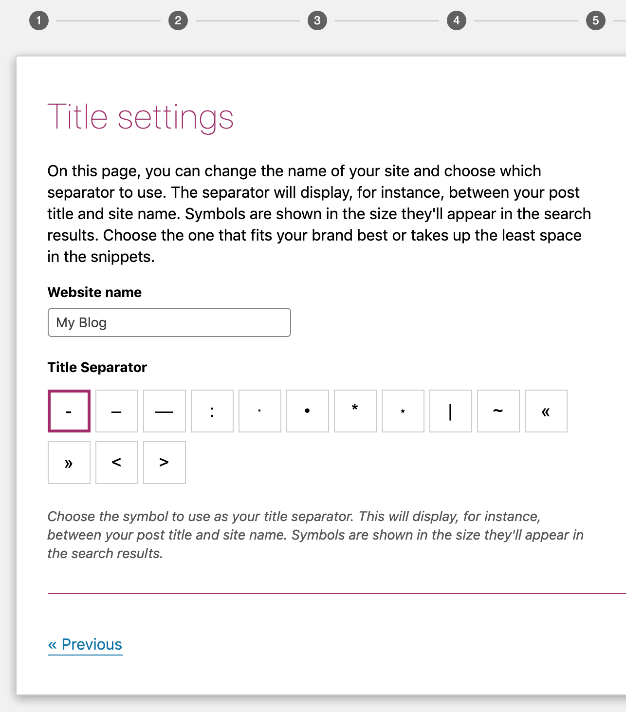 yoast author title settings
