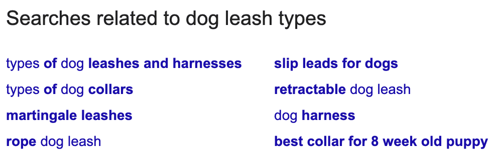 google searches related to
